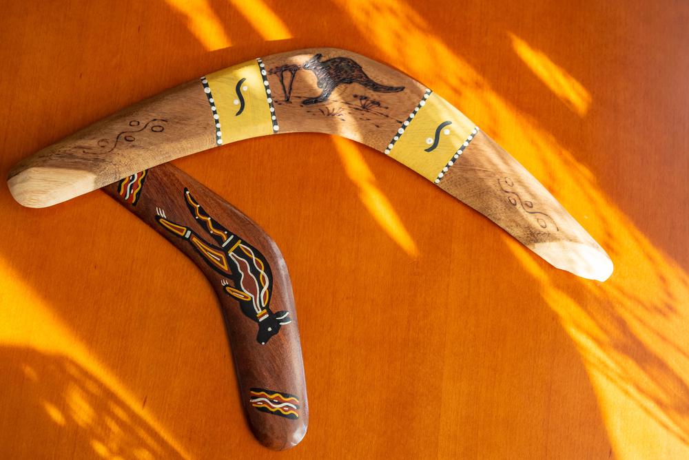 Igra na prostem - bumerang